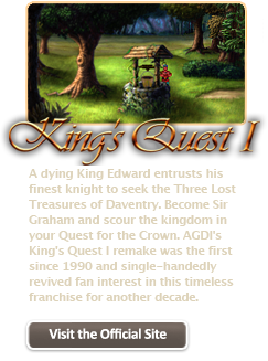 King's Quest I  (FREE from AGDI) Kq1_on