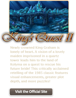 King's Quest II  (FREE from AGDI) Kq2_on